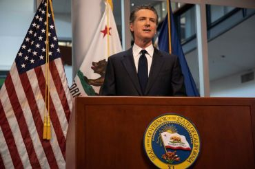 "Gov. Newsom referred to the reopening process as a ""dimmer switch,"" not an ""on-and-off switch."""