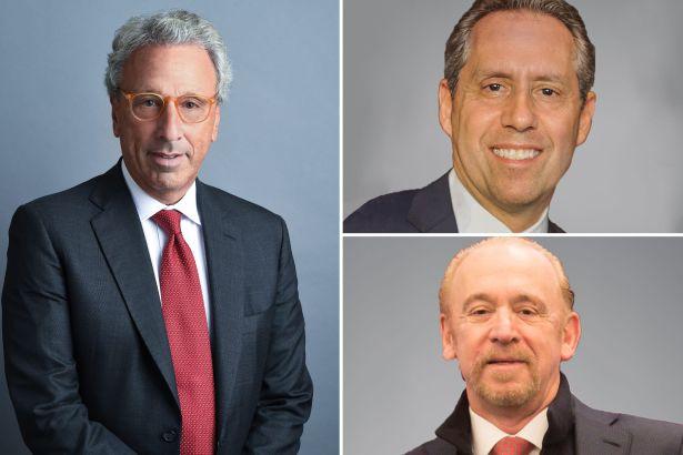 Barry Gosin, Jimmy Kuhn and David Falk