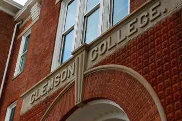 Clemson University's Tillman Hall, one of the campus' more renowned buildings and the home of its College of Education.