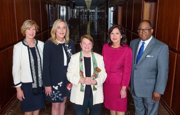 From left, supervisors Janice Hahn, Kathryn Barger, Sheila Kuehl, Hilda L. Solis, and Mark Ridley-Thomas.