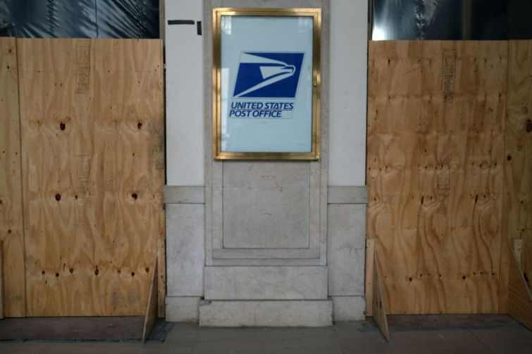 Post Office in New York City.