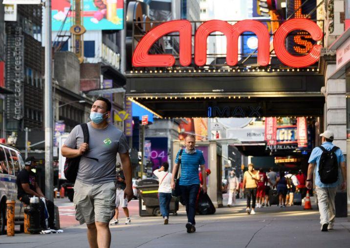 AMC theater, New York.