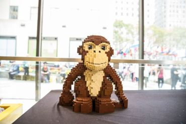 Lego store at Rockefeller Center.