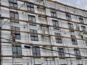 There were 14,800 job losses in the construction industry in July, largely due to weak hiring in residential construction.