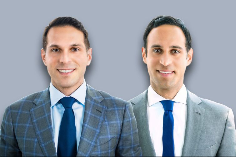 Dwight Capital founders and co-CEOs Adam and Josh Sasouness.