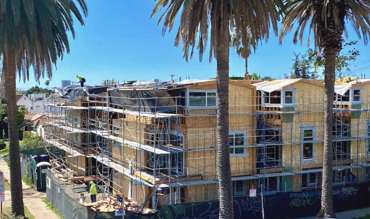 Apartment construction in L.A. is starting to mirror the downward trends of the Great Recession.