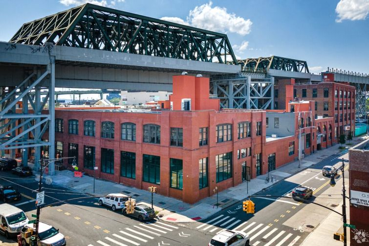 Joseph Hamway's Industrie Capital Partners revamped and restored a heavy timber warehouse complex at 124 Ninth Street in Gowanus, Brooklyn.