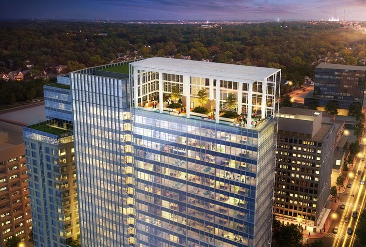 Soaring above the Bethesda skyline, Avocet Tower offers an unrivaled tenant experience.