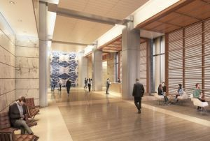 avocet tower lobby Taking In Office Wellness to New Heights