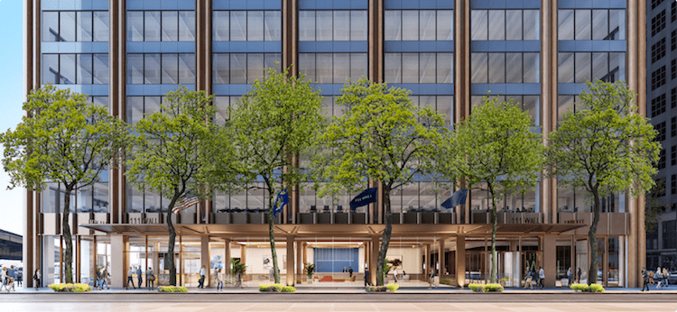 SKW Funding and Bain Capital Credit supplied $410 million of mezzanine and debt financing for the planned redevelopment of 111 Wall Street under their new joint venture.