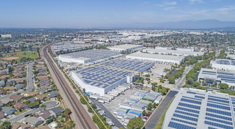 Golden Springs Development Company LLC owns the property at 13021 Leffingwell Road within the 284-acre Golden Springs Business Center in Santa Fe Springs.