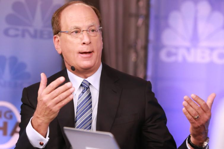 Larry Fink, founder, chairman and CEO of Blackrock.