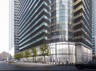 The postmodernist office tower at 175 Water Street is being completely revamped by Metro Loft, which purchased it last year.