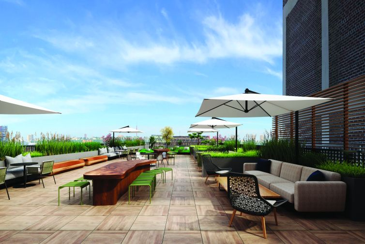 The top-floor tenants will also have access to a new roof terrace.