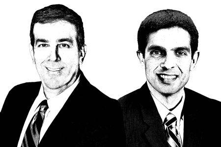Sam Newman (left) and Vijay Sekhon.