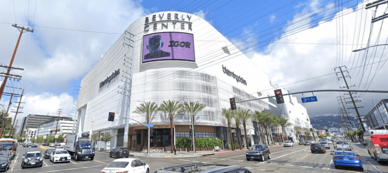 The Beverly Center in Los Angeles.