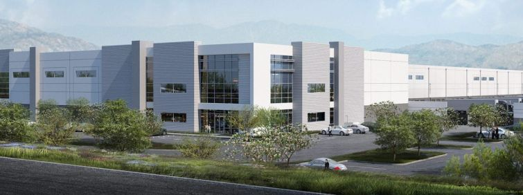 Val Verde Logistics Center at 23458 Cajalco Road.