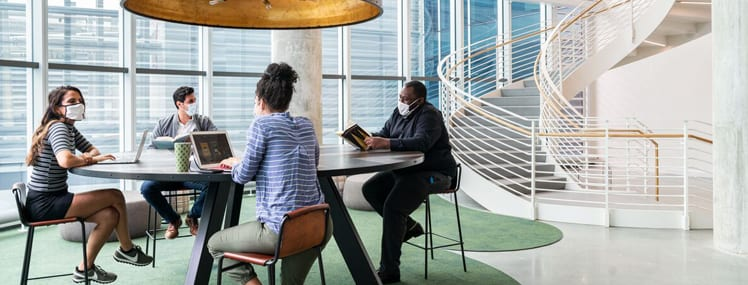 Return to work in WeWork's safety-enhanced spaces