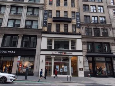 139 Fifth Avenue.