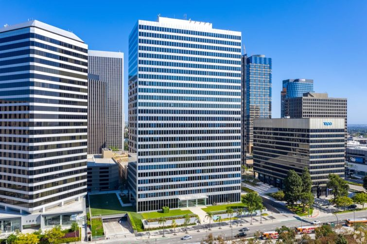 Thompson Coburn will occupy the entire fifth floor at 10100 Santa Monica Boulevard, a 26-story tower with 640,095 square feet of space.