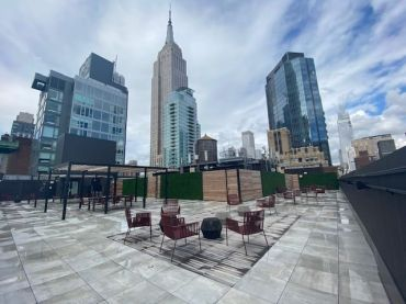 Roofdeck at 136 Madison Avenue
