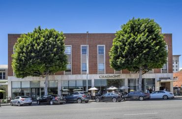 The 29,735-square-foot building is at 139 South Beverly Drive near the famed Rodeo Drive shopping district.