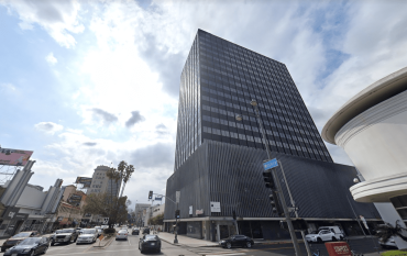 The tower includes approximately 222,000 square feet of space along Wilshire Boulevard.