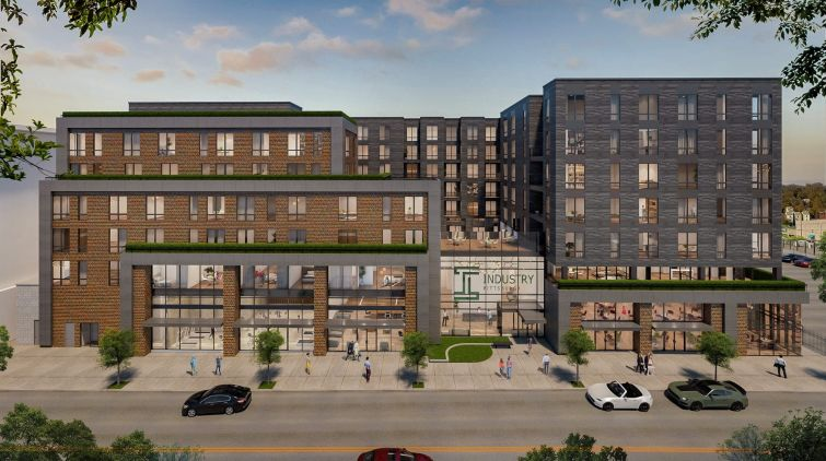 Rendering of 5803 Centre Avenue.