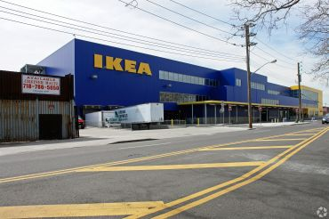 Visits to Ikea stores have surged nationwide over the past few months, with long lines of New Yorkers flocking to local stores like the Red Hook Ikea, pictured.