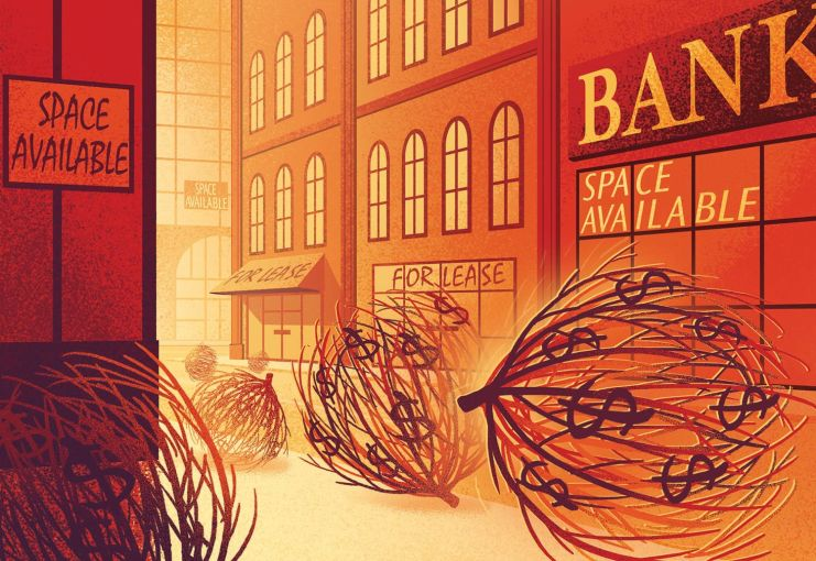 wall street illustration, money