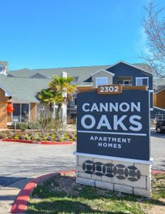 Cannon Oaks Apartments in Austin, Texas.