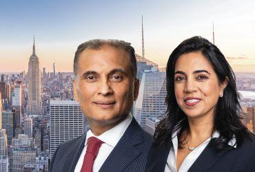 Amit Doshi and Shallini Mehra, Meridian Capital Group
