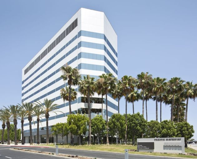 The Pacific Gateway office is 84 percent leased, with tenants including DaVita HealthCare Partners and Farmers Insurance.