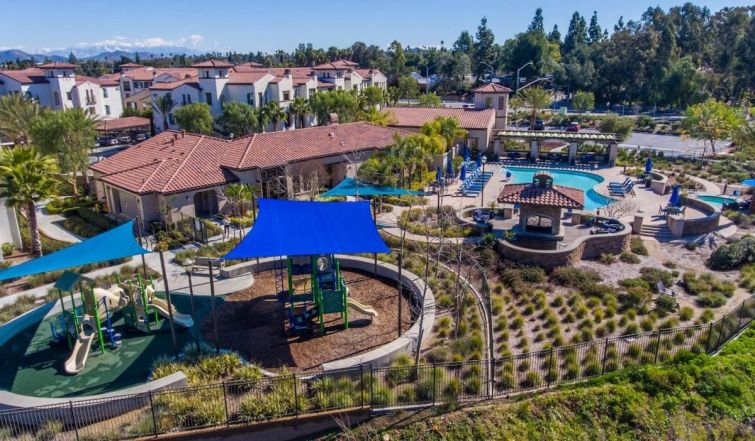 The portfolio includes the 288-unit Palisades at Sierra Del Oro in Southern California's Inland Empire.