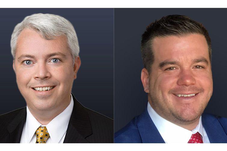 Bill Petersen (left) and Mike Haas.