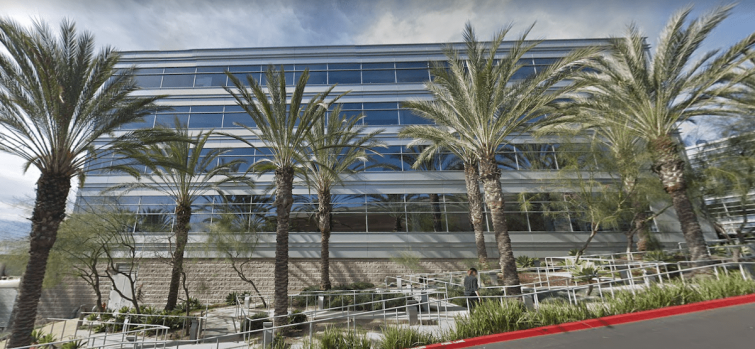 The office is located at 900 Corporate Pointe in the Fox Hills neighborhood of Culver City.