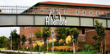The Alhambra campus, which spans 355,000 square feet at 1000 South Fremont Avenue.