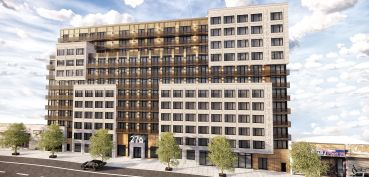 A rendering of 276 Grand Concourse.