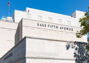 The Beverly Hills Saks Fifth Avenue department store in Beverly Hills.
