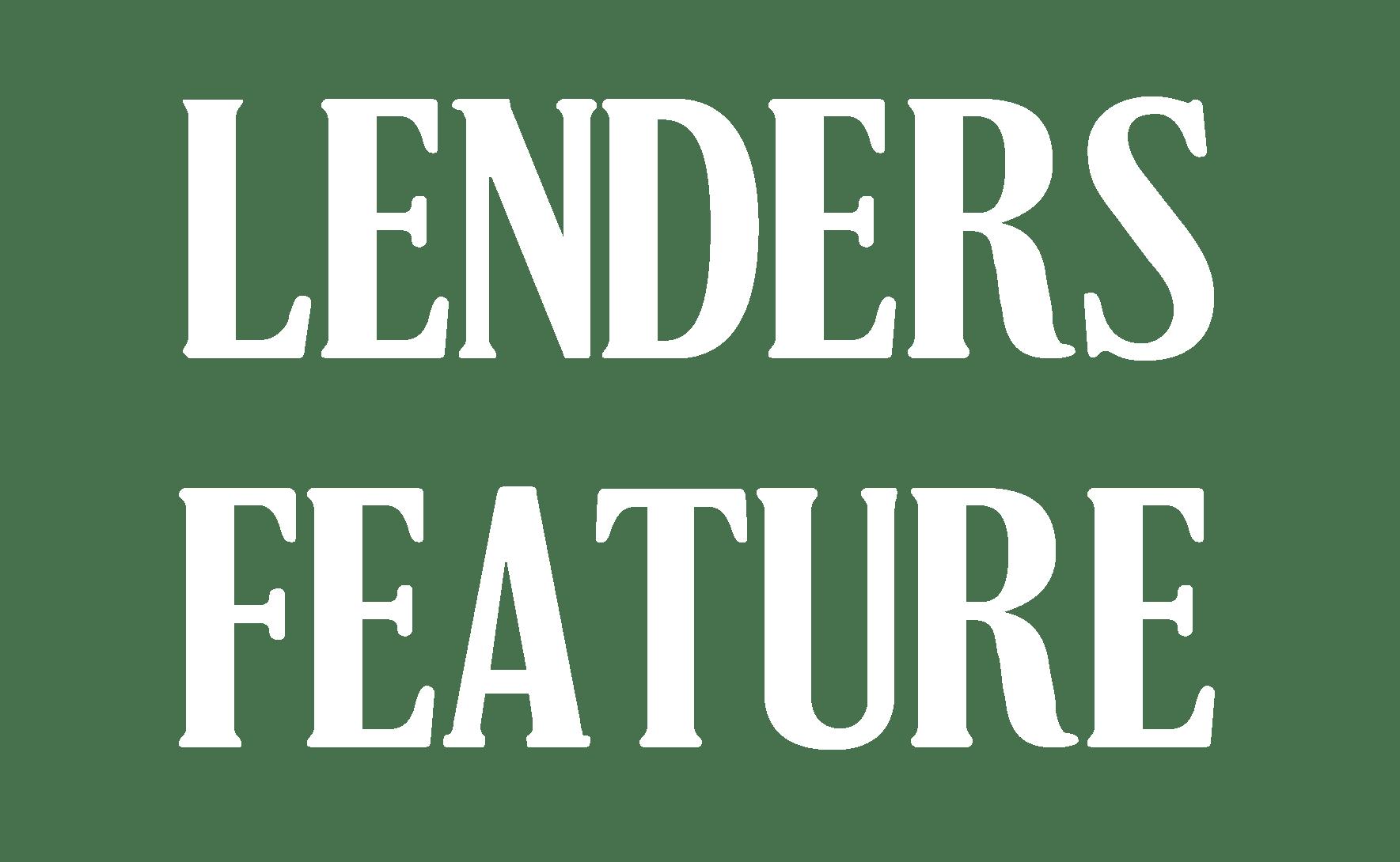 2020 Lenders