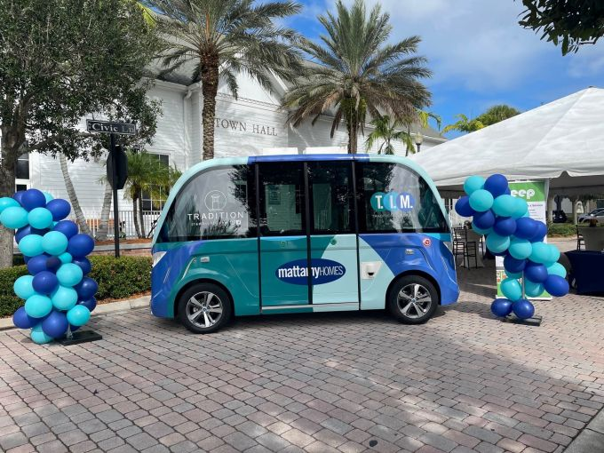 Beep shuttle in Tradition, Florida.