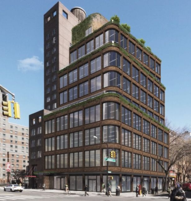 A rendering of the 1 St. Marks Place office development.