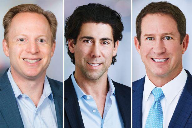 Joshua Gorin, Mark Sullivan and Andy Lustgarten