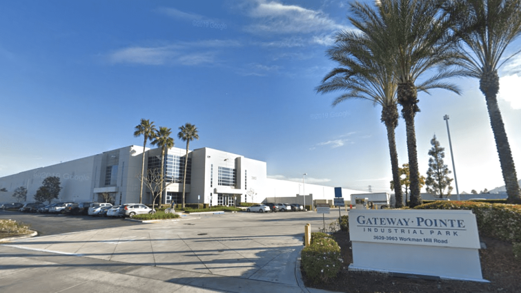 Gateway Pointe includes 989,195 square feet of space in Whittier.