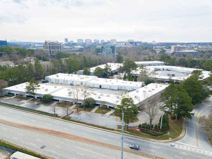 The light industrial park at 120 Interstate Northwest Parkway in Atlanta, Ga.