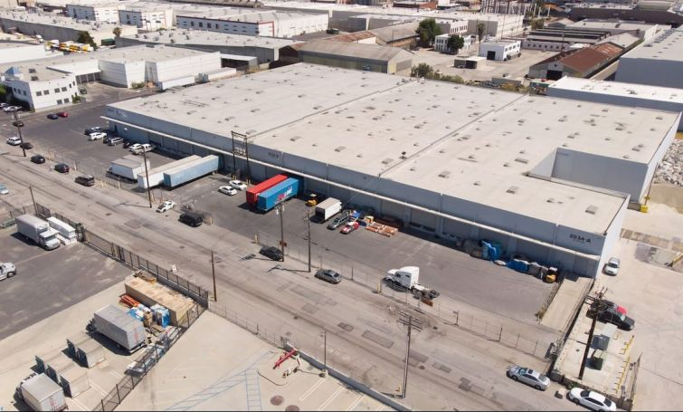 The portfolio includes six fully leased properties in the small industrial city of Vernon in Los Angeles County.