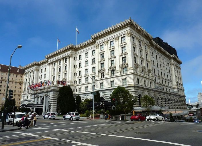 Fairmont San Francisco.