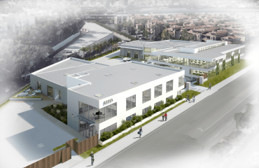 The 1.8-acre campus will feature flex space suitable for media, studio, and creative office purposes on West Centinela Avenue.