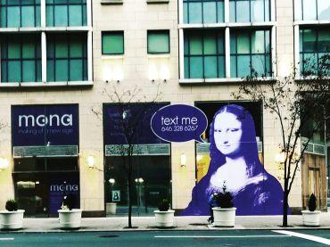 Mona signage