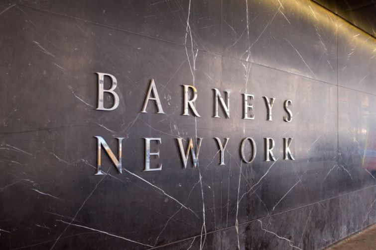 Barneys Store Sign